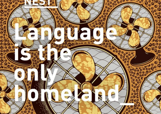 "Samenwerking HCA en NEST - Randprogrammering ""Language is the only homeland"""